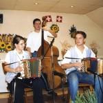Nicole mit Ivan und Marcel Lenggenhager