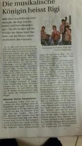 Bote_Zeitungsartikel Rigi