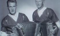 Josef Betschart sen. (Bödler) und Xaver Bürgler (Fraumättler)